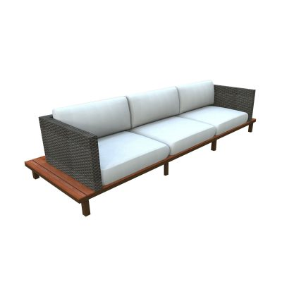 Bellona three seater sofa