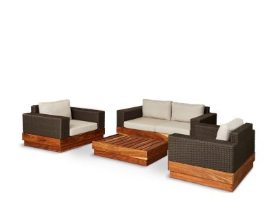 Makhaya four seater patio suite