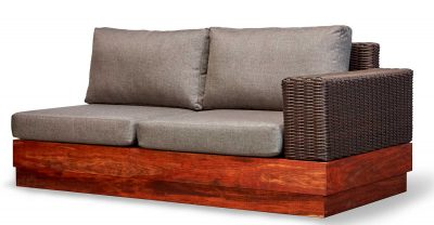 Makhaya two seater sectional sofa