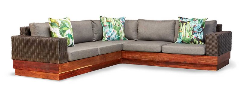 Makhaya five seater sectional sofa