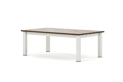 Origin low arm rectangle timber coffee table
