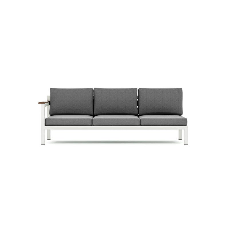 Origin low arm three seater sectional sofa