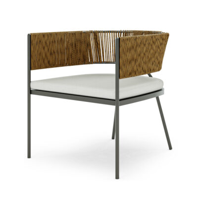 Arc Occasional Chair ISO View